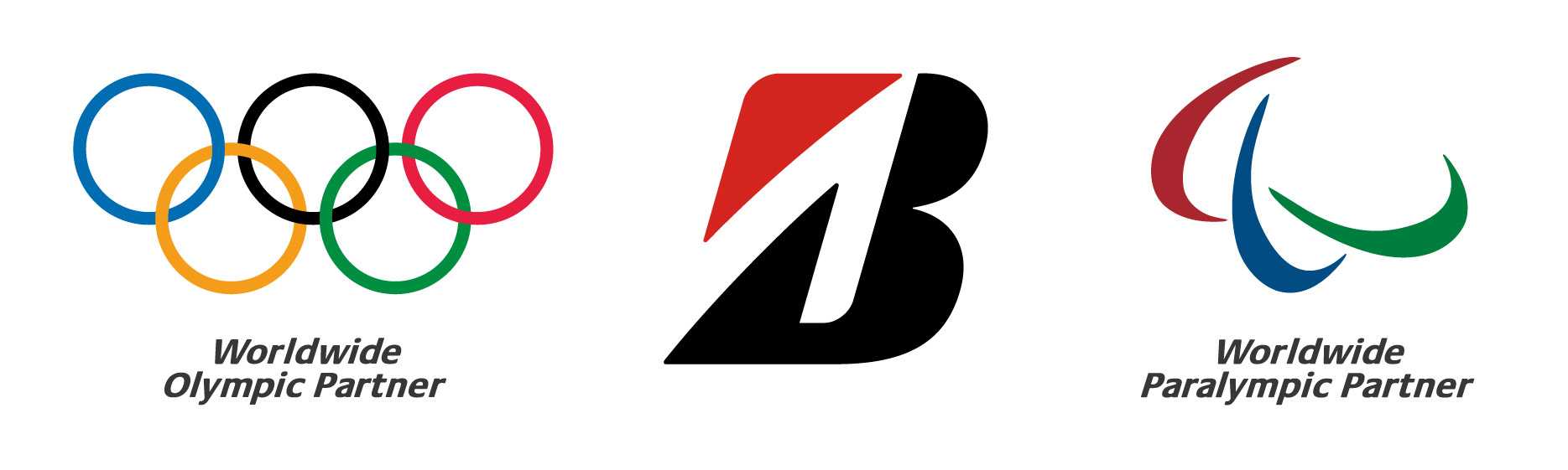 BRIDGESTONE IS PROUD TO BE A WORLDWIDE OLYMPIC PARTNER