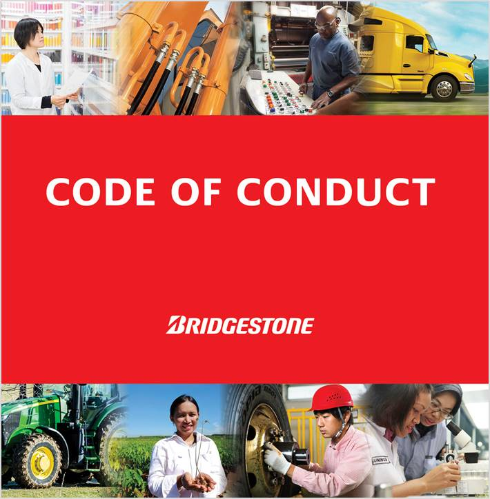 BRIDGESTONE CODE OF CONDUCT