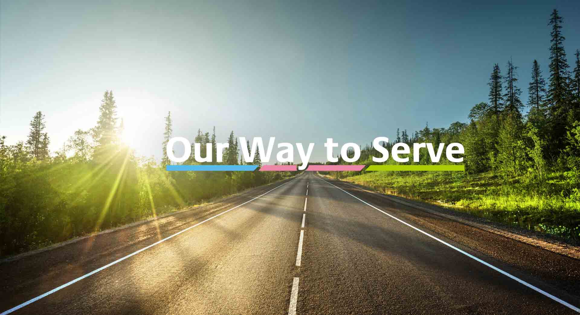 Our Way to Serve